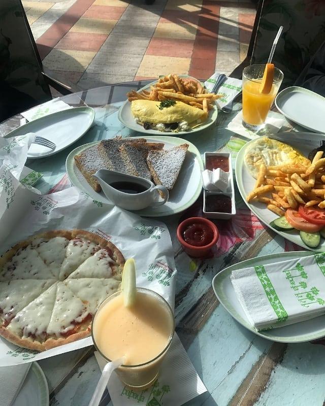 مطعم و كافيه بابايا في جدة