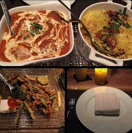 مطعم بهارات الهندي في جدة