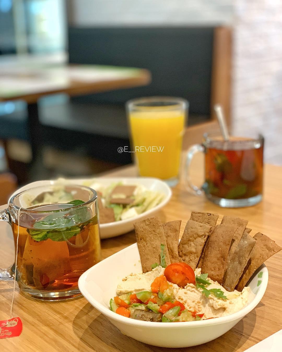مطعم زعتر و زيت في جدة كافيهات جده افضل مقاهي جده