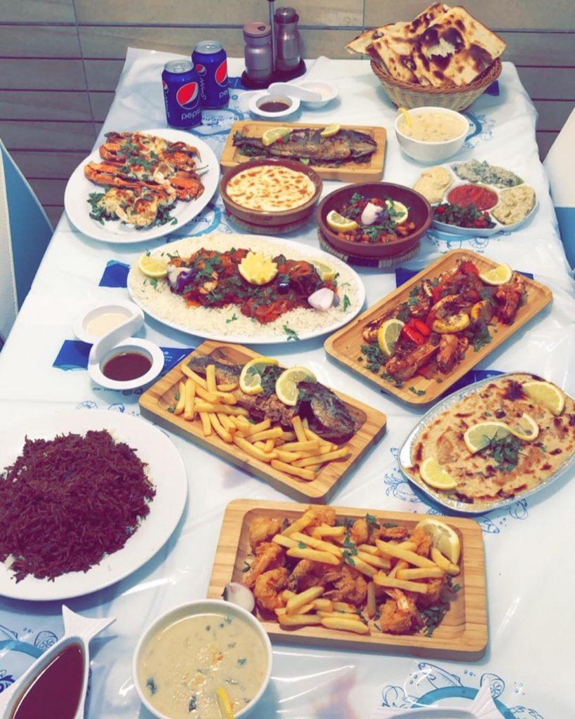 Fish restaurant in Jeddah