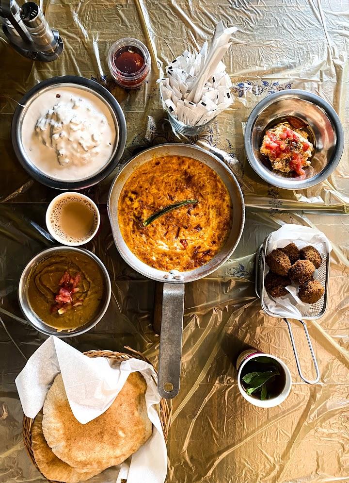 مطعم حمص وفول