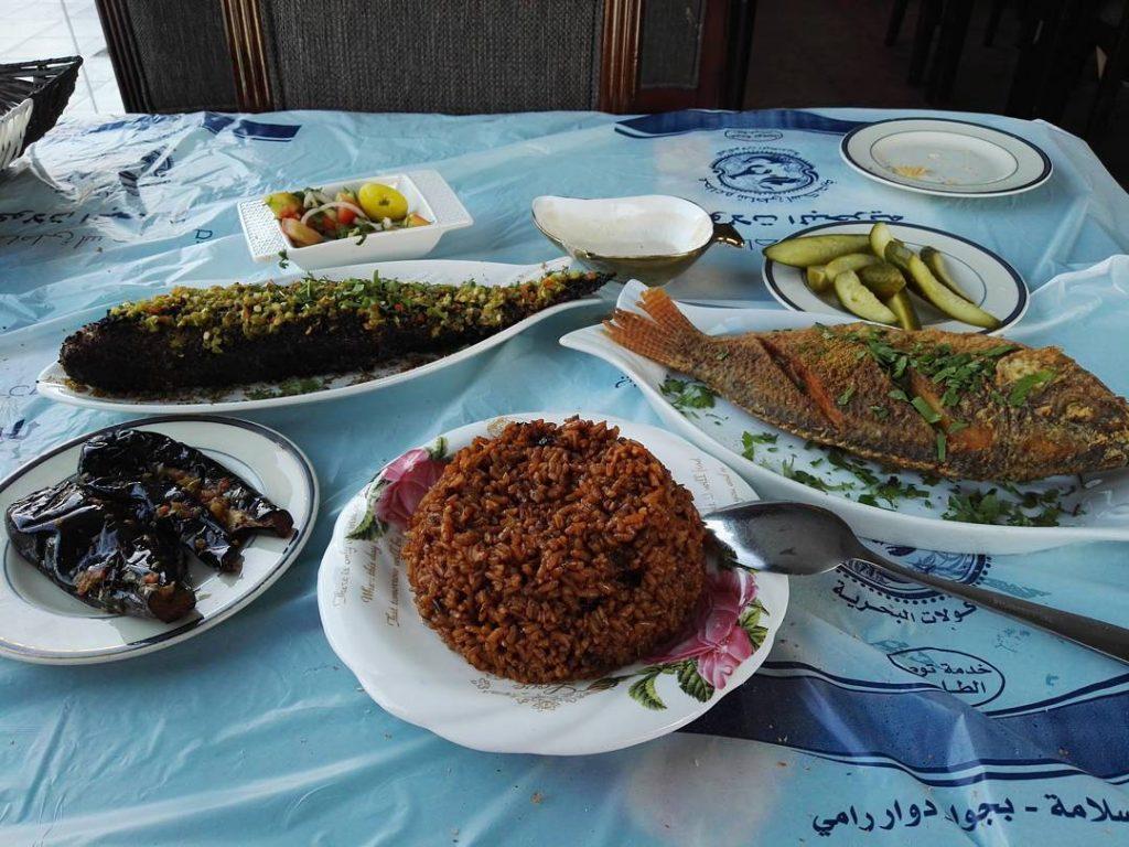 شاطئ الإسكندرية للمأكولات البحرية