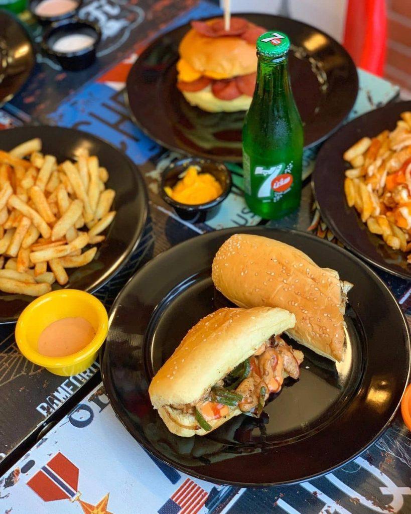 مطعم كوبا فطور آند برجر جدة