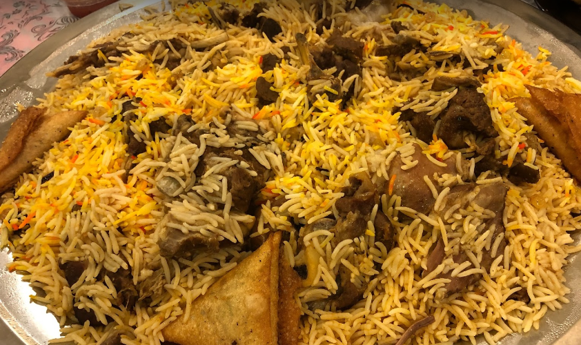 مطعم الكبسة السعودية جدة